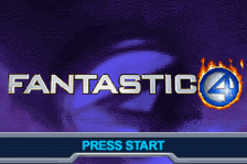 Fantastic 4 - Flame On title screenshot