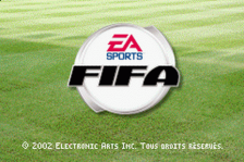 FIFA Soccer 2003 title screenshot
