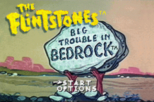 Flintstones, The - Big Trouble in Bedrock title screenshot