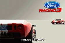 Ford Racing 3 title screenshot
