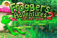 Frogger's Adventures 2 - The Lost Wand title screenshot