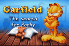 Garfield - The Search for Pooky title screenshot