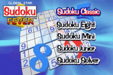 Global Star - Sudoku Fever title screenshot