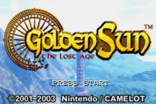 Golden Sun - The Lost Age title screenshot