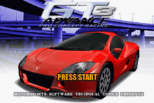 GT Advance 3 - Pro Concept Racing title screenshot