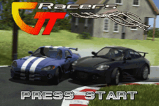 GT Racers title screenshot
