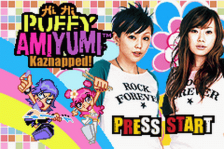 Hi Hi Puffy AmiYumi - Kaznapped! title screenshot