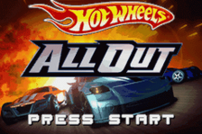 Hot Wheels - All Out title screenshot