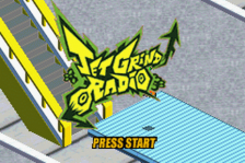 Jet Grind Radio title screenshot