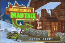 Jonny Moseley Mad Trix title screenshot