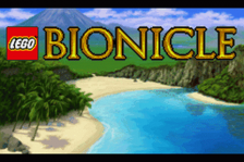LEGO Bionicle title screenshot