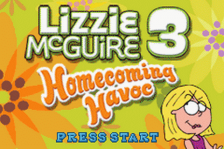 Lizzie McGuire 3 - Homecoming Havoc title screenshot