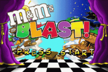 M&M's - Blast! title screenshot