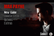 Max Payne title screenshot