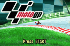 Moto GP title screenshot