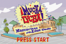 Mucha Lucha! - Mascaritas of the Lost Code title screenshot