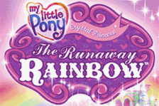 My Little Pony - Crystal Princess - The Runaway Rainbow title screenshot