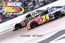 NASCAR Heat 2002 title screenshot