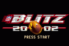 NFL Blitz 20-02 title screenshot
