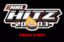 NHL Hitz 20-03 title screenshot