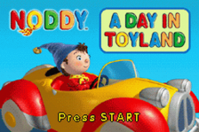 Noddy - A Day in Toyland title screenshot