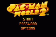 Pac-Man World 2 title screenshot