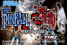Pinball of the Dead, The title screenshot