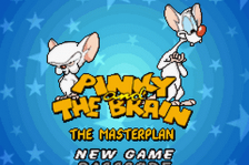 Pinky and the Brain - The Masterplan title screenshot