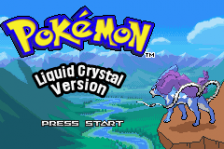 Pokemon - Liquid Crystal title screenshot