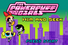 Powerpuff Girls, The - Him and Seek title screenshot