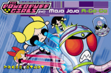 Powerpuff Girls, The - Mojo Jojo A-Go-Go title screenshot