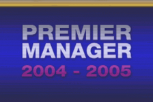 Premier Manager 2004-2005 title screenshot