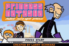 Princess Natasha - Student, Secret Agent, Princess title screenshot