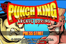 Punch King - Arcade Boxing title screenshot