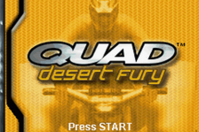 Quad Desert Fury title screenshot