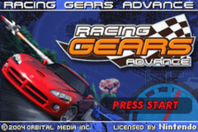 Racing Gears Advance title screenshot