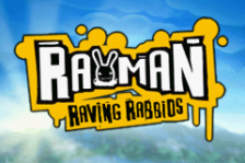 Rayman - Raving Rabbids title screenshot