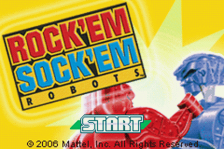 Rock'em Sock'em Robots title screenshot