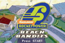 Rocket Power - Beach Bandits title screenshot