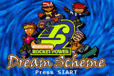 Rocket Power - Dream Scheme title screenshot