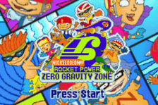 Rocket Power - Zero Gravity Zone title screenshot
