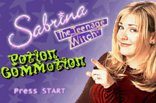 Sabrina - The Teenage Witch - Potion Commotion title screenshot