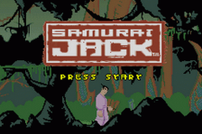 Samurai Jack - The Amulet of Time title screenshot