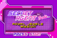 Secret Agent Barbie - Royal Jewels Mission title screenshot