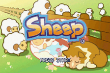 Sheep title screenshot