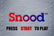 Snood title screenshot