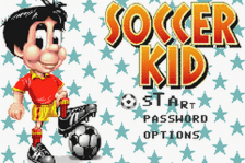 Soccer Kid title screenshot