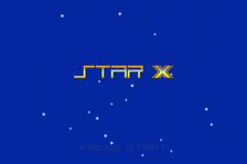 Star X title screenshot