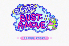 Super Bust-A-Move title screenshot
