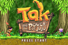 Tak and the Power of Juju title screenshot